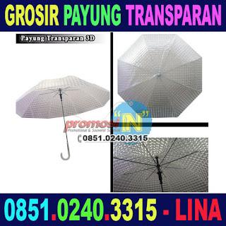 Grosir Payung Transparan di Surabaya