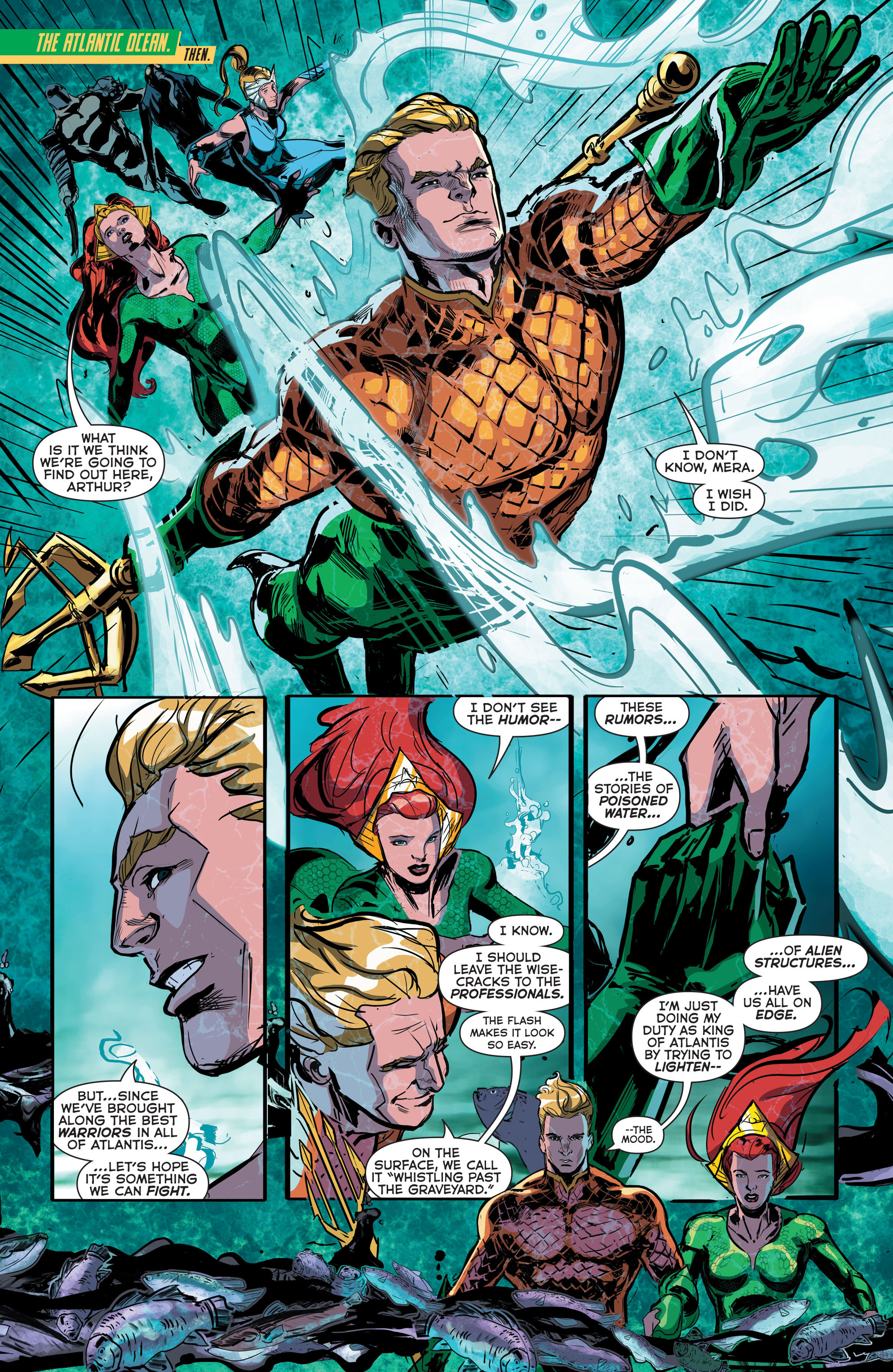 Read online Aquaman (2011) comic -  Issue #41 - 9