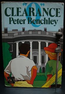 """Portada del libro """"Q"""" Clearance, de Peter Benchley"""