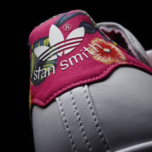 Stan Smith Mujer Flores