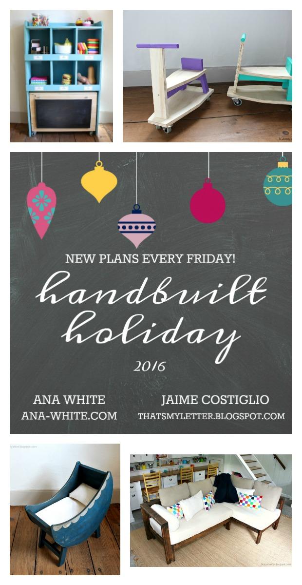 handbuilt holiday gift plans