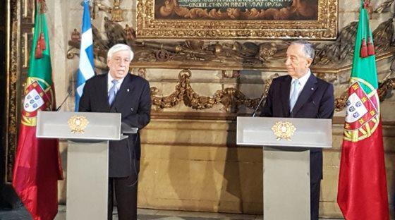 Να αλλάξει η αδιέξοδη πολιτική λιτότητας διαμήνυσε από την Πορτογαλία ο Π. Παυλόπουλος....