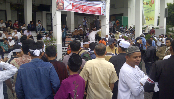 aksi bela islam, metro tv diusir