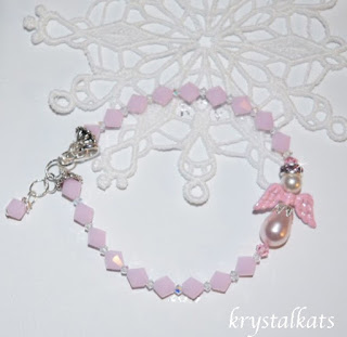 Handmade Baby Girl Angel Bracelet