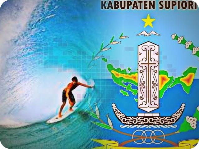 Pantai Wafor Sawarkar Jadi Lokasi Surfing di Supiori