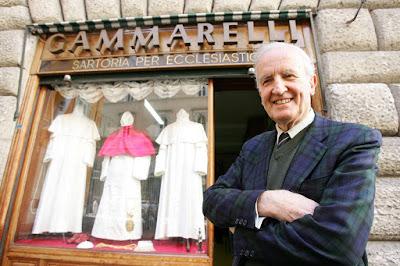 """Falece em Roma """"o alfaiate dos Papas"""": Conheça sua história e seu legado"""