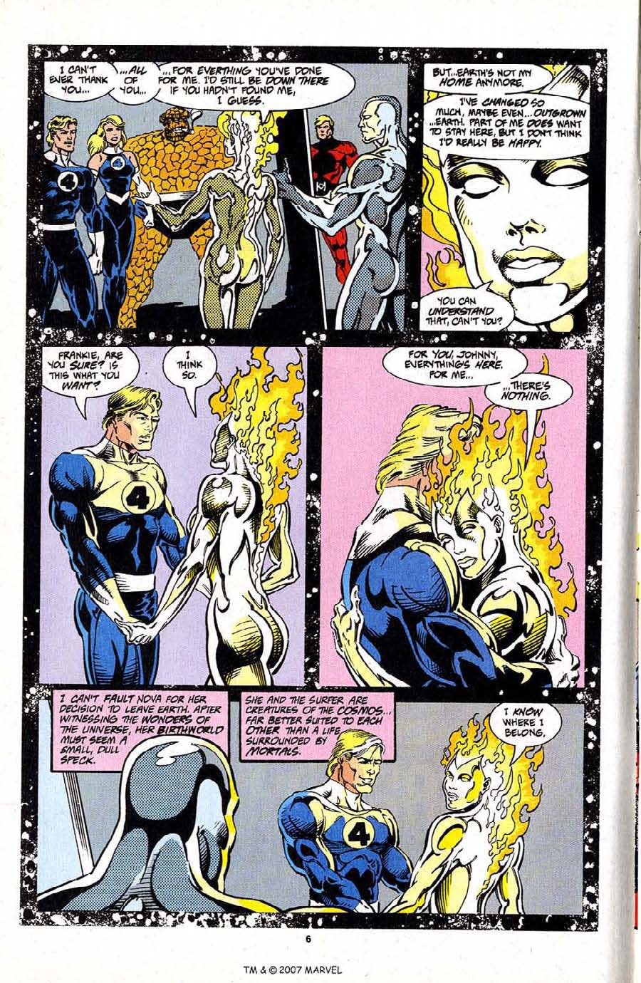 Read online Silver Surfer (1987) comic -  Issue #97 - 8