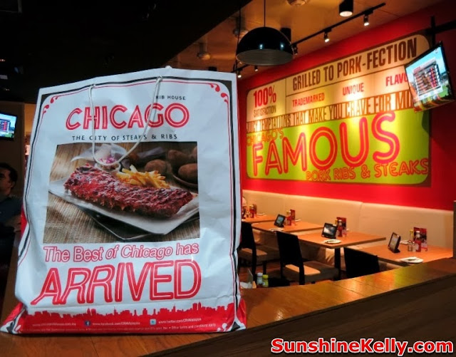Chicago Rib House Christmas Menu, food review, best pork ribs, non halal restaurant, pork retaurant, chicago rib house
