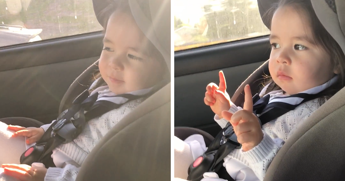 Toddler Goes Viral After Patiently Waiting For The Beat To Drop, And Then Killing It With Her Dance Moves