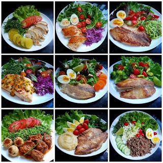 Almoço ou jantar paleo