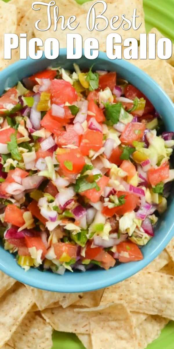 How to make Pico De Gallo with cabbage. A delicious balance of heat and acid from the addition of pickled jalapeños, fresh orange juice, and fresh lime juice from Serena Bakes Simply From Scratch.