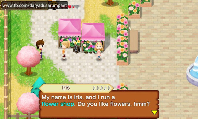 harvest moon seeds of memories android game talking irish