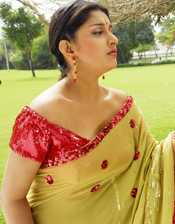 Meera Jasmine Hot Saree Pictures