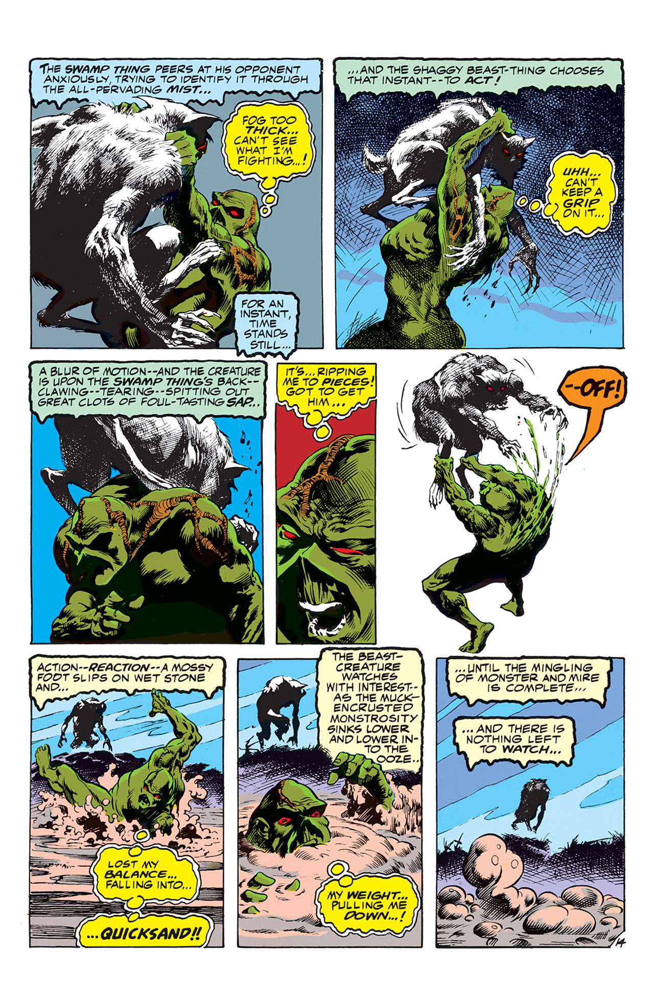 Swamp Thing (1972) Issue #4 #4 - English 15