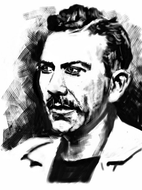 John Steinbeck Sketch - Image source: https://c2.staticflickr.com/6/5054/5509984031_1e3d7293a2_z.jpg