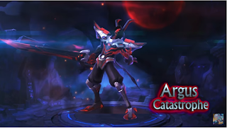Free Download Mobile Legends: Bang Bang Argus Catastrophe New Skin 2018