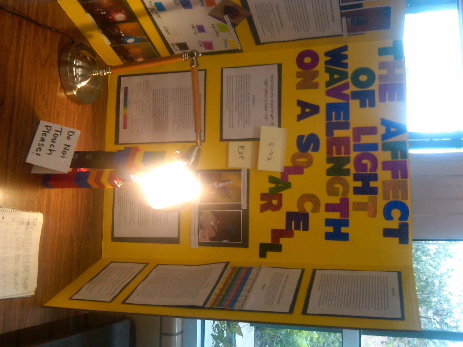 Principal S Blog A Sea Of Science Fair Projects