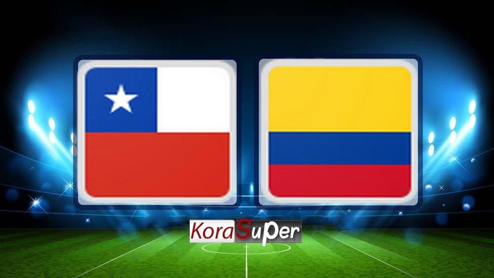 مشاهدة تشيلي وكولومبيا 29-06-2019