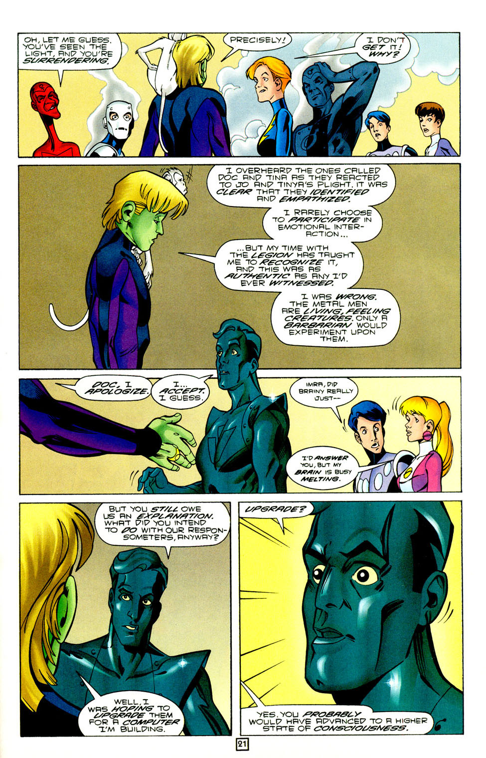 Legion of Super-Heroes (1989) 95 Page 21