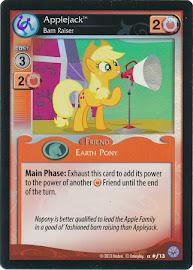 My Little Pony Applejack, Barn Raiser Premiere CCG Card