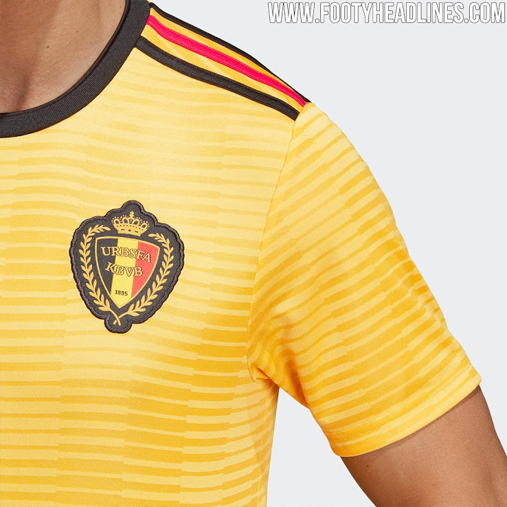 super popular 5b25e e3aeb Belgium 2018 World Cup Away Kit Released - Leaked Soccer Cleats