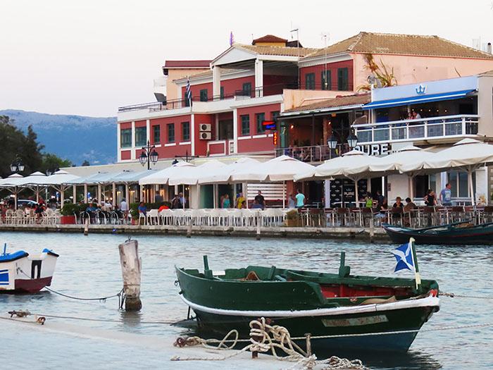 Lefkada town promenade