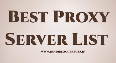 proxy server site  list