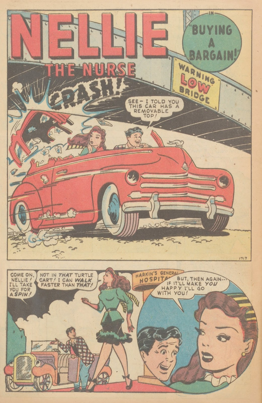 Read online Nellie The Nurse (1945) comic -  Issue #11 - 42