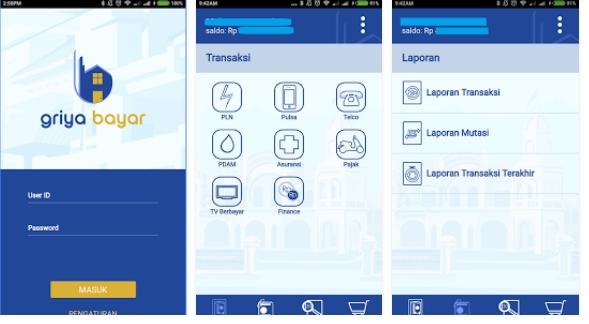 Aplikasi Mobile Griya Bayar