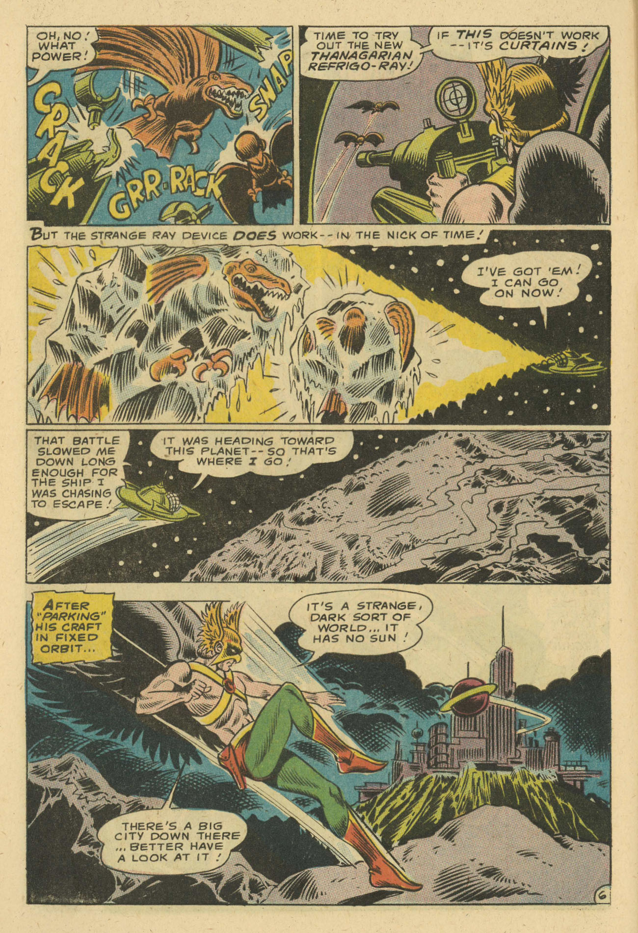 Hawkman (1964) issue 24 - Page 8