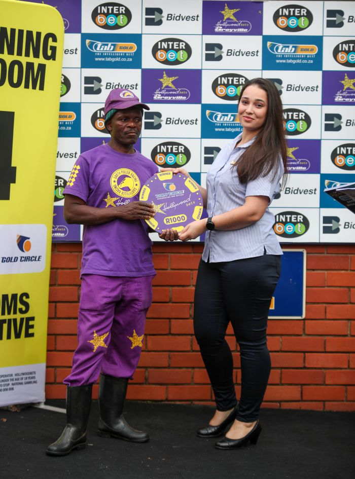 Grooms Initiative winner - Friday 6th December - Hollywoodbets Greyville -  - Race 2 - Mandla Patrick Ndaba - GREAT GUY