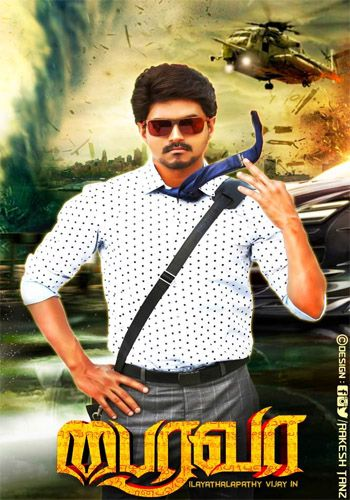 Bairavaa (2017) Dual Audio 720p UNCUT HDRip [Hindi + Tamil] 1.6GB