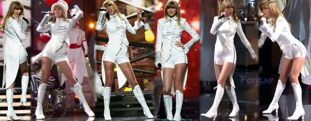 Taylor Swift Video Shorts Con Botas Grammy Awards 2013