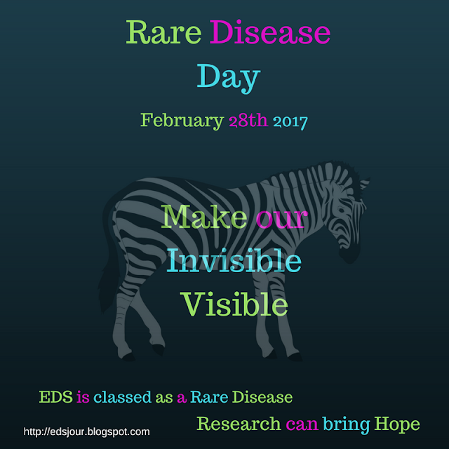 Rare Disease Day zebra