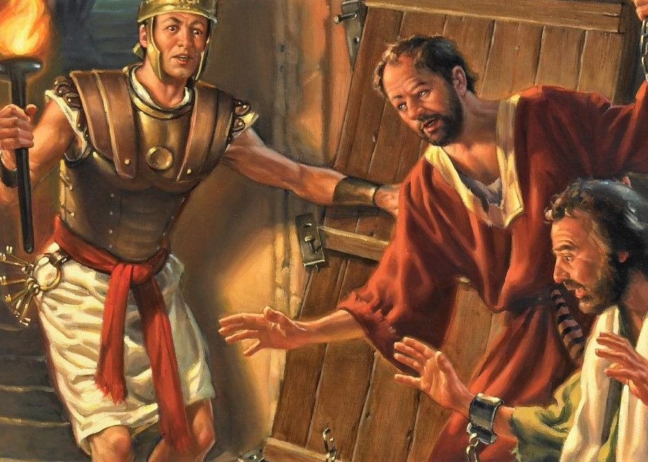 The Doxology Desk: Acts 16:16-40,