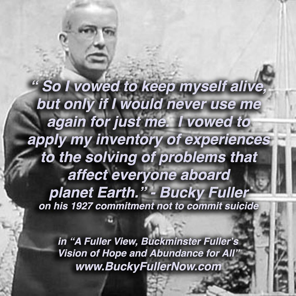 79b3e7243c58e3 R. Buckminster Fuller was a renowned 20th century inventor and visionary  born in Milton
