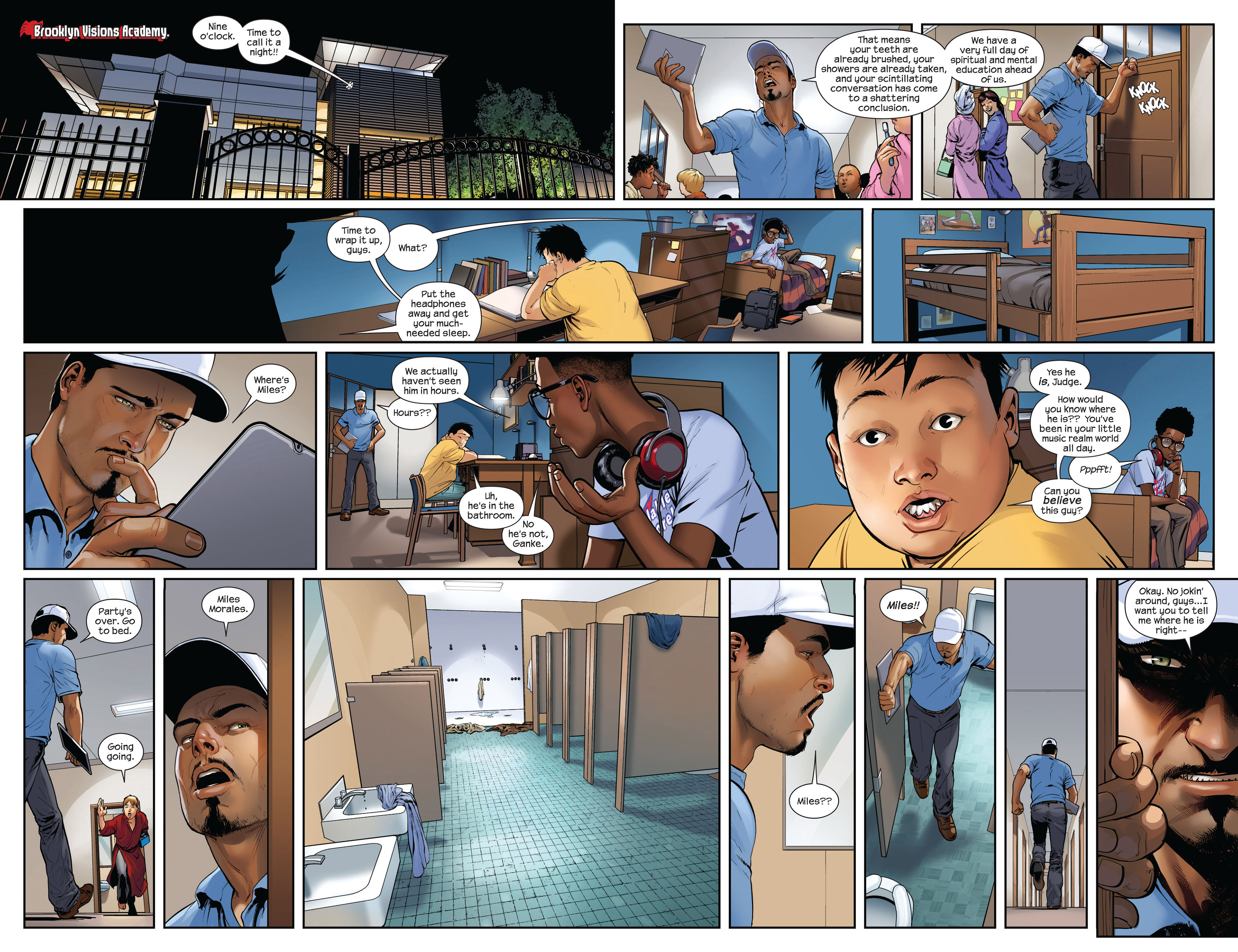 Read online Ultimate Comics Spider-Man (2011) comic -  Issue #9 - 15