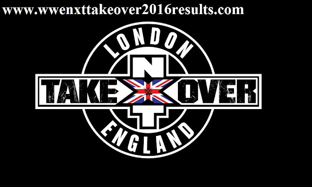 NXT TakeOver 2016 Results