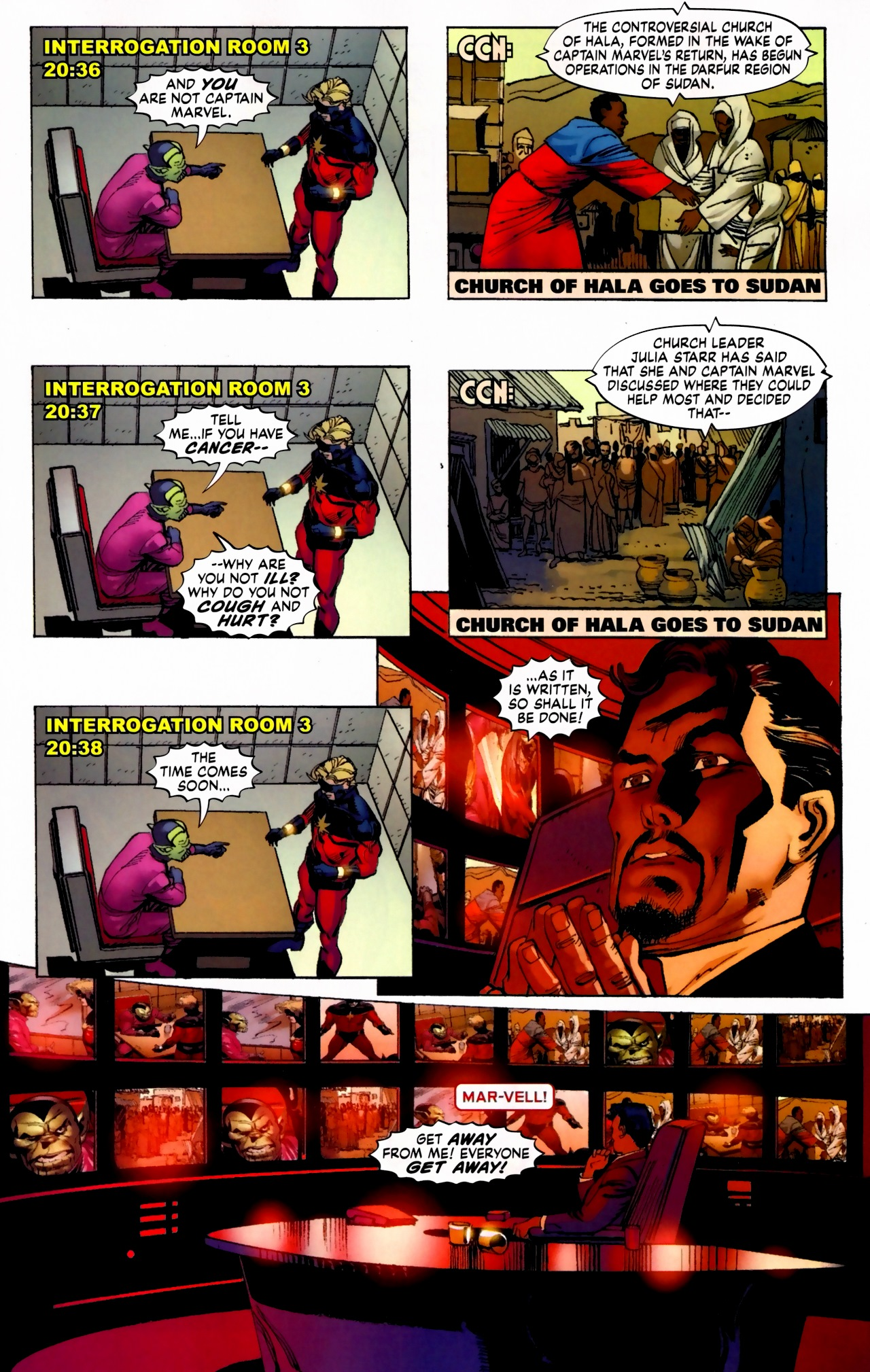 Read online Secret Invasion: The Infiltration comic -  Issue #5 - 15
