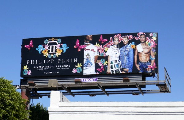 Philipp Plein Good gone bad Spring 2018 billboard
