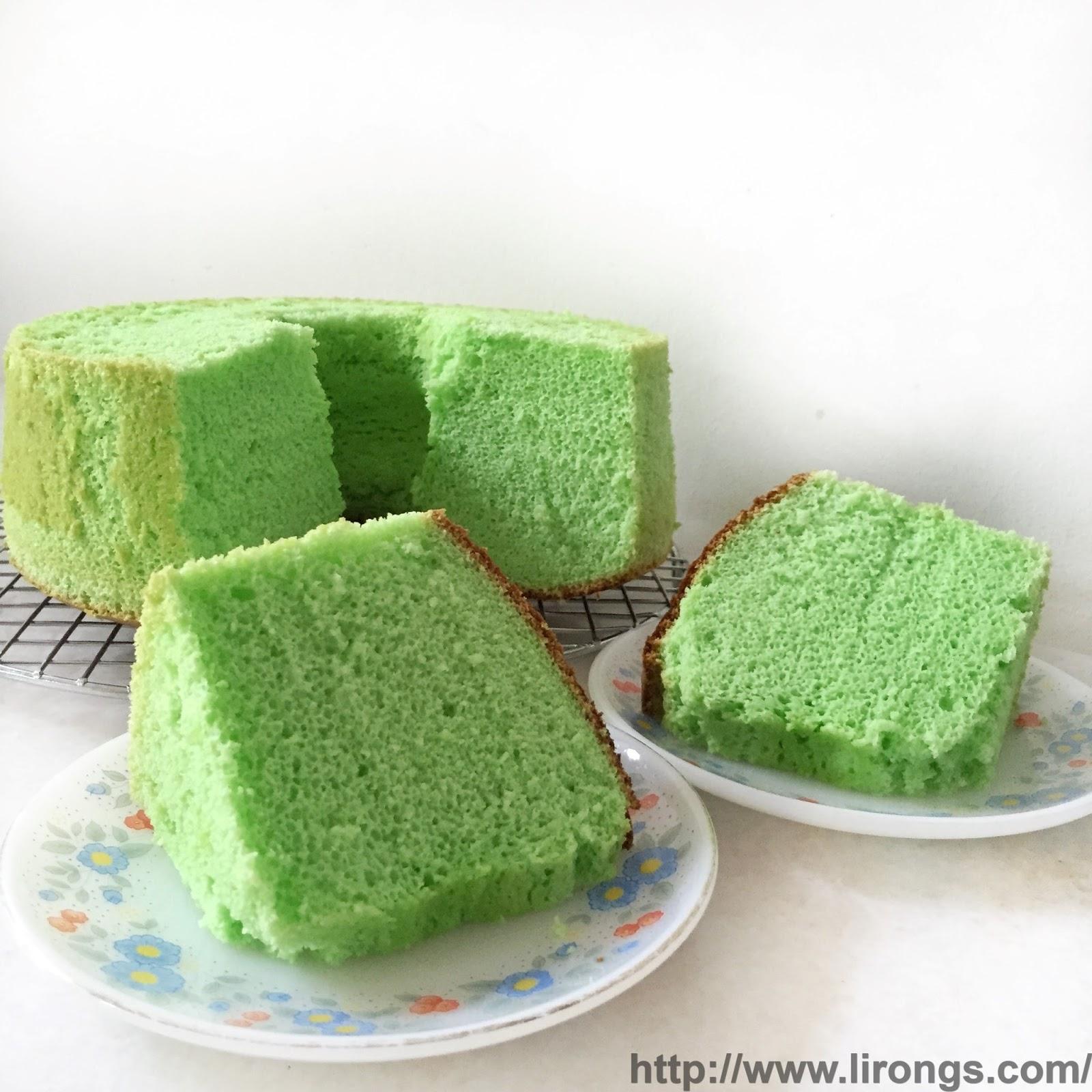 how to make pandan chiffon cake