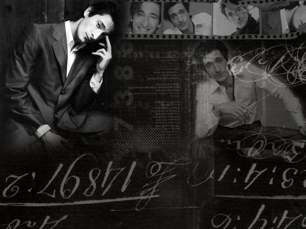 Darcy Cruz: Adrien Brody Wallpaper