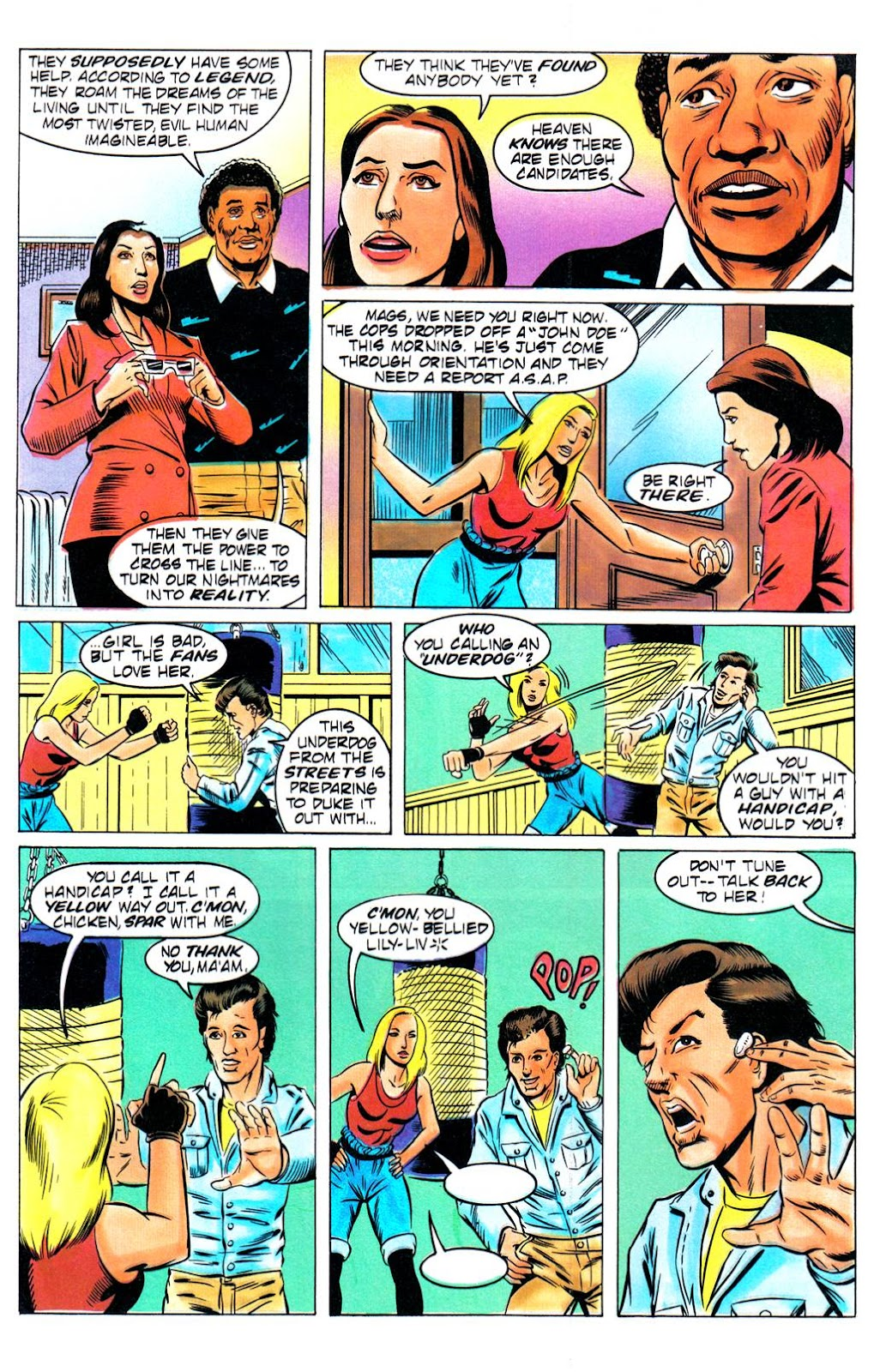 Read online Freddy's Dead: The Final Nightmare comic -  Issue #1 - 15