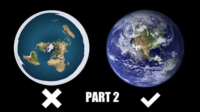 Bantahan Terhadap Argumen Flat Earth – PART 2