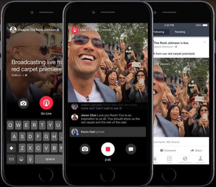 Facebook Updates Mentions App to Allow Live News Broadcast for Journalists 1