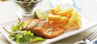 Basil Salmon (Feslegenli Somon Baligi)