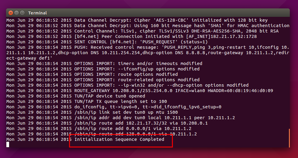 How To Install and Use OpenVPN Client on Ubuntu