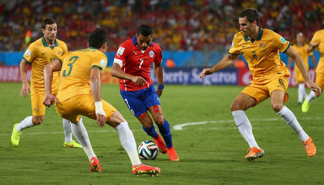 Chile vs Australia en vivo