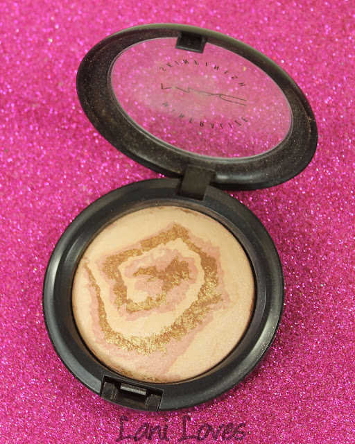 MAC Monday: Heavenly Creatures - Light Year Mineralize Skinfinish Swatches & Review