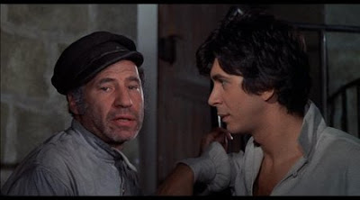 Frank Langella and Mel Brooks in The Twelve Chairs